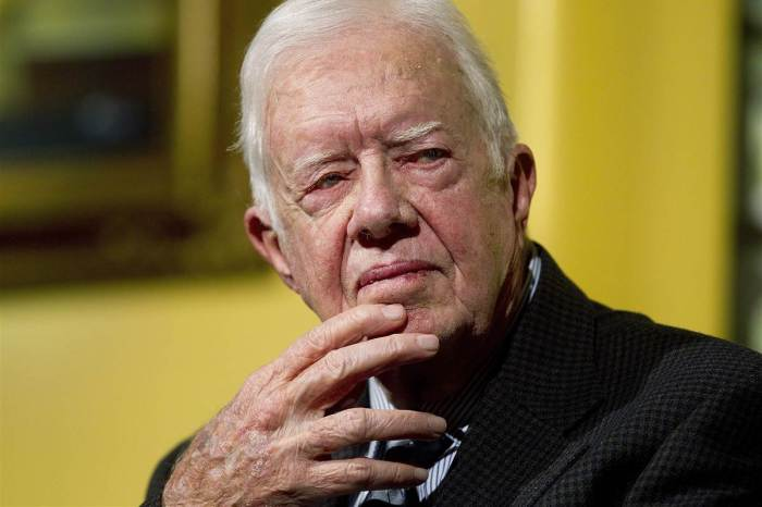 The movement to censure Jimmy Carter