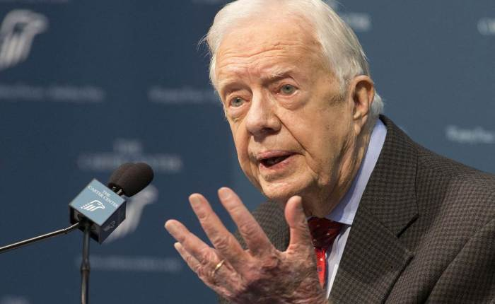 CARTER: AN ANTI-SEMITIC HYPOCRITE