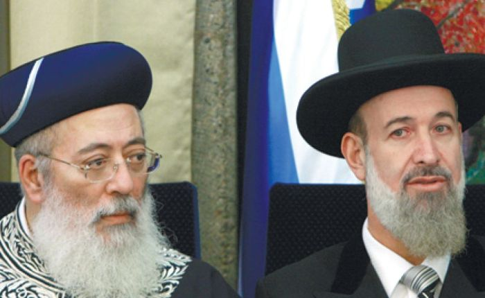 Israel Chief Rabbi Excommunicates anti-Israel Orthodox Jews