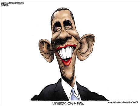 Obama's Lipstick Smear