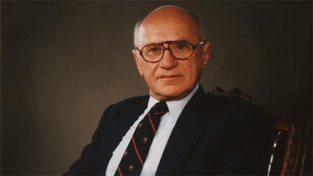 Milton Friedman on Greed