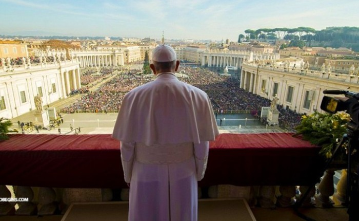 POPE FRANCIS CALLS FOR DIVISION OF ISRAEL IN CHRISTMAS DAYSERMON