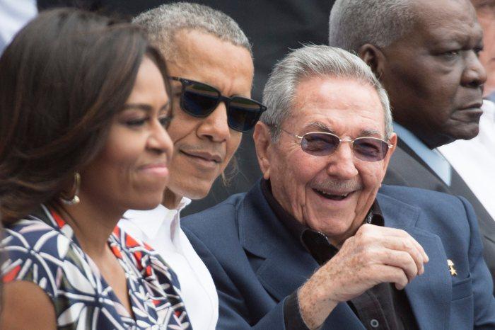 EPA CUBA USA DIPLOMACY BASEBALL POL BASEBALL DIPLOMACY CUB --