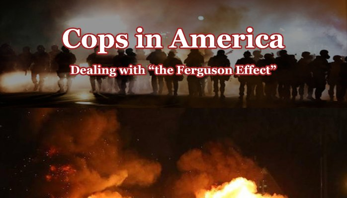 "HEATHER MAC DONALD ON ""THE FERGUSON EFFECT"""