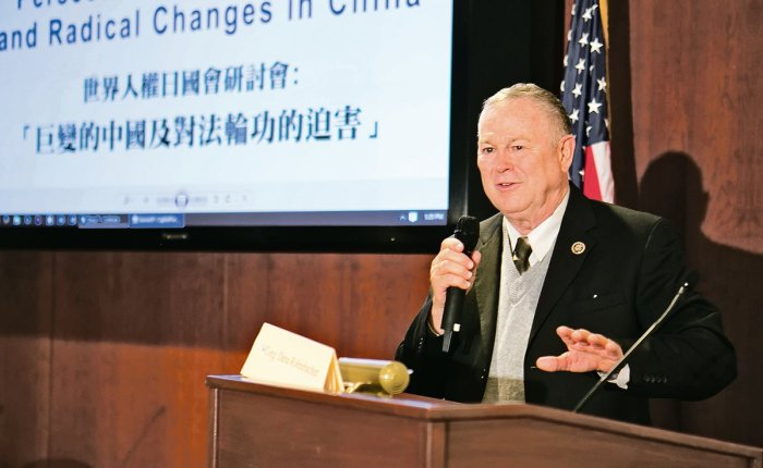 DANA ROHRABACHER SHOULD BE THE NEXT SECRETARY OF STATE