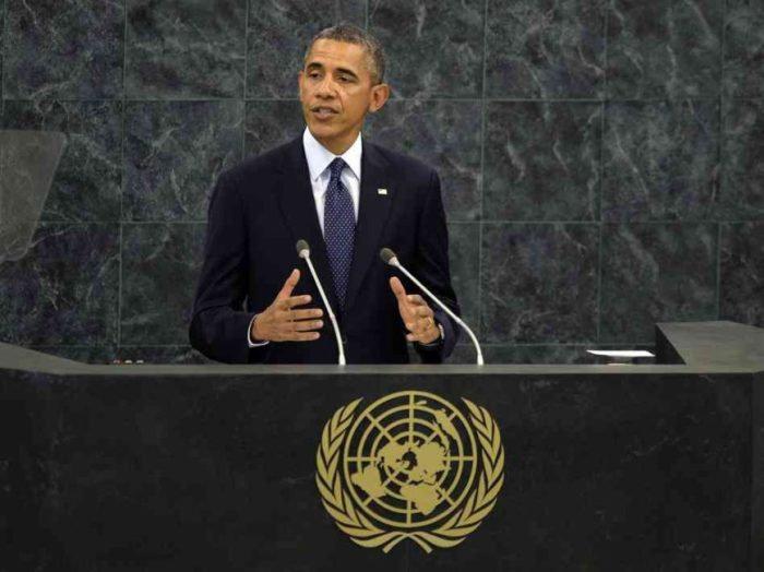 THE U.N. AND OBAMA'S ACT OF AGGRESSION