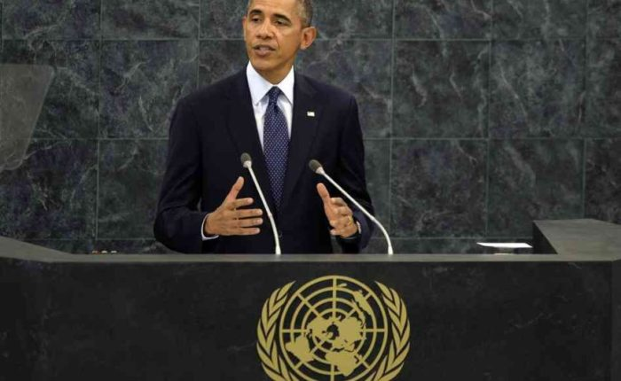THE U.N. AND OBAMA'S ACT OFAGGRESSION