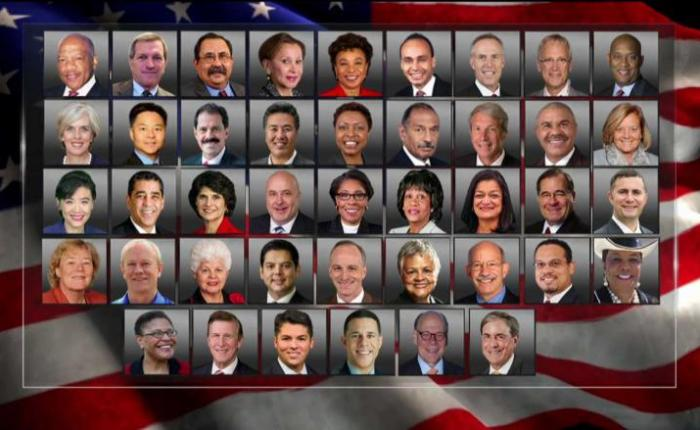A LIST OF DISGUSTING CONGRESS MEMBERS WHO WILL NOT ATTEND TRUMP INAUGURATION