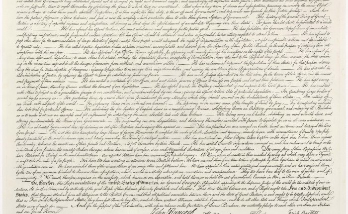 The Declaration ofIndependence